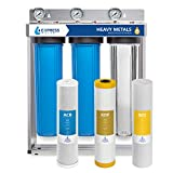 Express Water Heavy Metal Whole House Water Filter – 3 Stage Home Water Filtration System –...