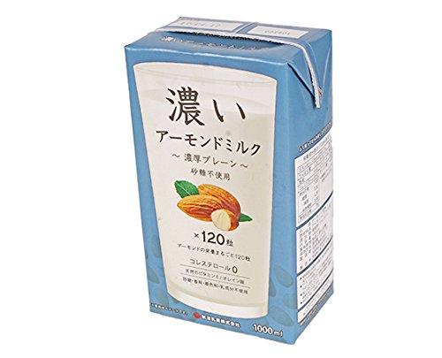筑波乳業『濃いアーモンドミルク(濃厚プレーン)』