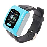 Wrist Watch Pulse Oximeter Heart Rate Monitor CONTEC CMS50F with Adult SPO2 Probe Free Software