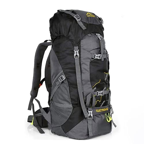 Nacatin, zaino da trekking, 60 l, grande, per uomini e donne, resistente agli strappi e all'acqua, ideale per campeggio, trekking, viaggi all'aperto