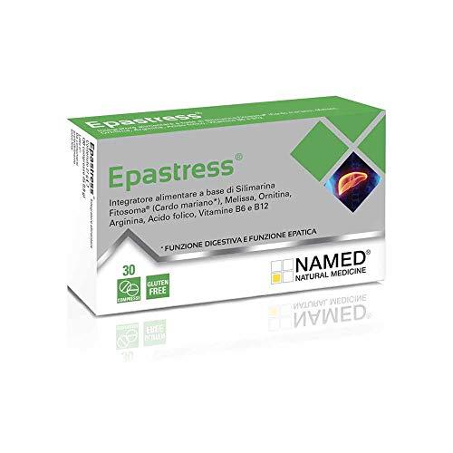 Named Epastress Integratore Funzionalità Epatica, 30 Compresse