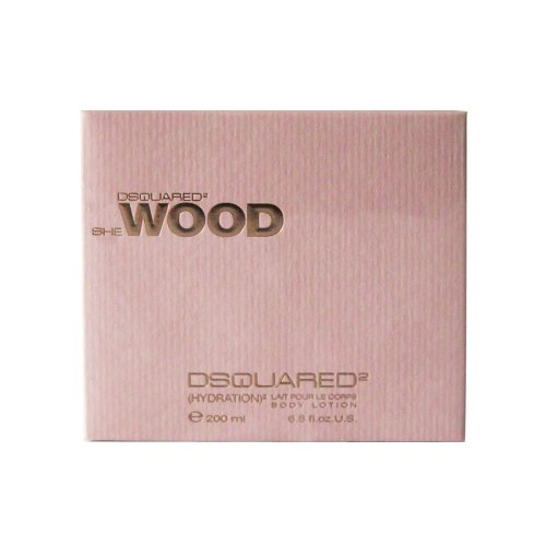 Dsquared She Wood femme/woman, Body Lotion, 1er Pack (1 x 200 ml)