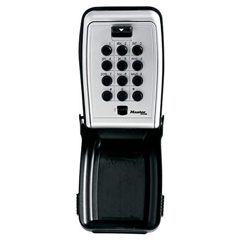 MASTER LOCK Schlüsseltresor [Medium] [Wandhalterung] [Wetterfest] [Druckknopf] - 5423EURD - Schlüsselsafe