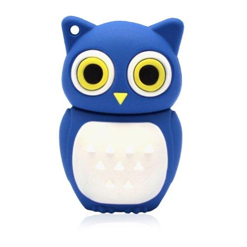 818-Shop No16500010008 Chiavetta USB 8GB, Figura 3D Guffo