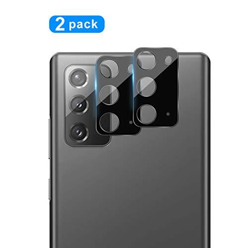 QULLOO Kamera Panzerglas Schutzfolie für Samsung Galaxy Note 20, [2 Stück] Kamera Linse Panzerglasfolie Anti-Kratzen Kameraschutz für Samsung Galaxy Note 20 5G Smartphone