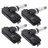 MOTOALL 4PCS TPMS Tire Pressure Monitor Sensor 52933-3X200 for Hyundai Elantra Tucson Kia Rio