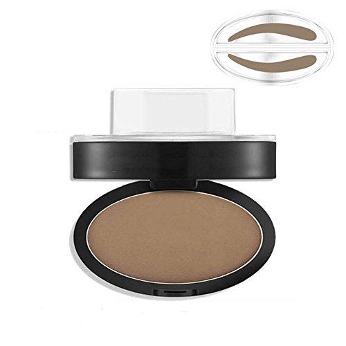 Bluelover Gris Brown Stamp Seal Eye Butrow Powder Maquillage Brow Waterproof Eye Cosmetic Tool # 02