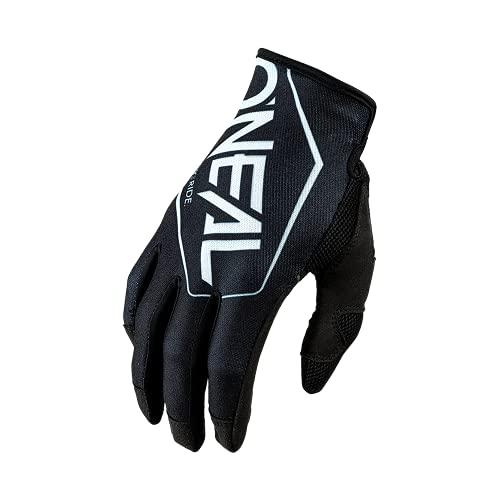 O'NEAL | Fahrrad- & Motocross-Handschuhe | MX MTB DH FR Downhill Freeride | Langlebige, Flexible Materialien, belüftete Nanofront-Handpartie | Mayhem Glove | Erwachsene | Schwarz Weiß | Größe M