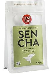 Organic Sencha green tea - for 108 cups, loose leaves - green tea from Tea 108