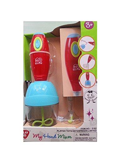 Kinder Mixer / Handmixer - spiele einfach die Erwachsenen nach, ideal für die Spielküche