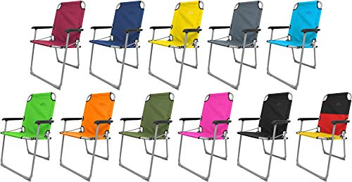 normani Outdoor Sports Klappstuhl -Angelstuhl Anglerstuhl Camping Stuhl Klappsessel faltbar Farbe Rosa