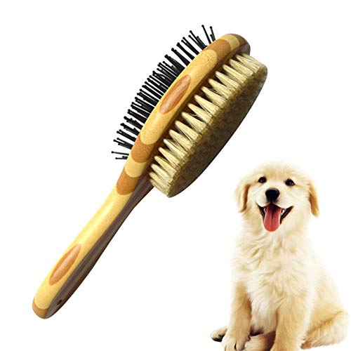 Bvnivcxzem Dog Brush Flea Comb Flea Combs for Cats Dog Grooming Tools Anti Knot Grooming Comb for Dogs Cat Flea Comb Slicker Dog Brush Dog Massage Brush