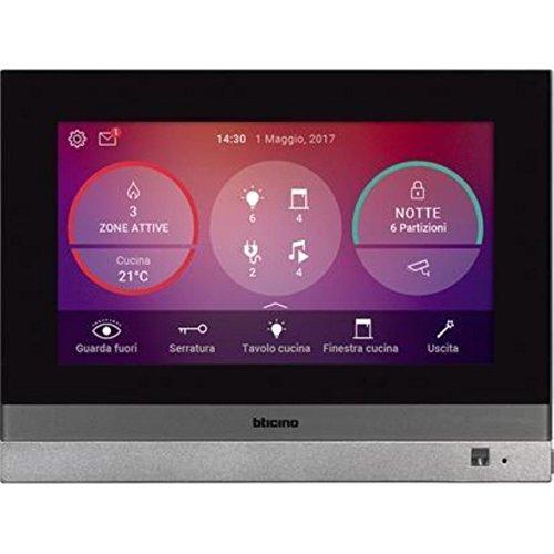Myhome - Estación de vídeo para casa con Pantalla táctil de 7', conexión WLAN/LAN y Smartphone
