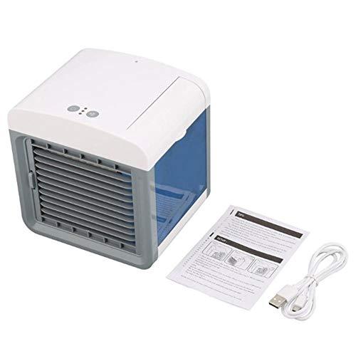 YHSGD Conveniente Ventilador del Enfriador de Aire Acondicionador de Aire Digital portátil Humidificador Space Easy Cool Purifica el Ventilador de enfriamiento de Aire para el hogar