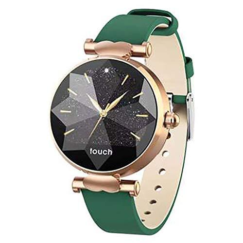 Rx 2019 nieuwe J2 vrouwen mode slimme armband horloge fysiologische cyclus herinnert multi-sport modus IP67 waterdicht, C