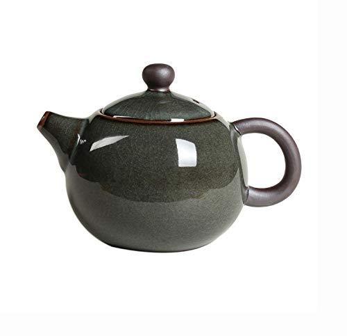 CUJUX Grieta del Esmalte Tetera Yixing cerámica Celadon Arte Tetera de Porcelana China de la Tetera de Yixing Arcilla Regalo del Arte Retro de la Tetera