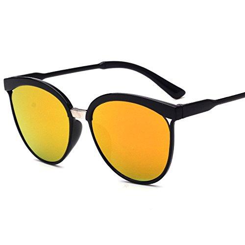Zolimx Las Nuevas Gafas de Sol de la Lente UV400 Que Completan un Ciclo Los Vidrios de Ciclo de la Bici de Montaña de Los Deportes (Amarillo)