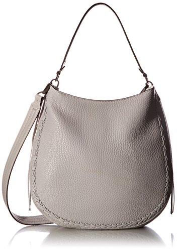 Rebecca Minkoff Unlined Convertible Hobo with Whipstich, Putty