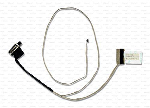 X-Comp Cable de vídeo LCD DD0U86LC000 DD0U86LC010 DD0U86LC020 DD0U86LC030 DD0U86LC210 para HP Pavilion 15-F000 15-N000 Serie