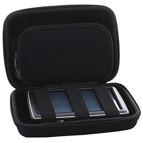 Universal Hardcase Navi Tasche für 7 Zoll (17,8cm) 7zoll Navigationsgerät - Hartschale passend für Becker/Blaupunkt/Garmin Navis - Navitasche Hard case Etui schwarz