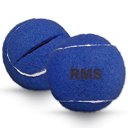 RMS Walker Glide Balls - A Set of 2 Balls with Precut Opening for Easy Installation, Fit Most Walkers (Blue)