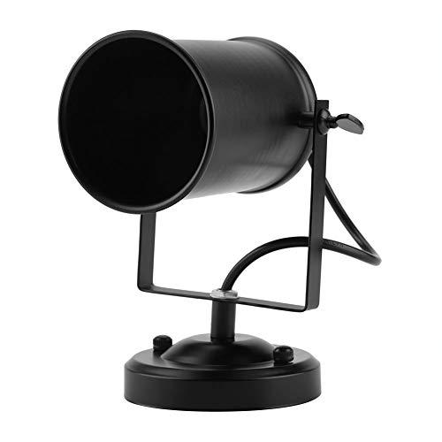 Cocoarm Retro wandlamp, metaal, vintage, ijzeren wandhouder, lamp, kunst, lantaarn, hal, bar, slaapkamer, keuken, restaurant, café, lamp, decor 220 V, zwart