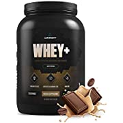 Legion Whey+ Mocha Cappuccino Whey Isolate Protein Powder from Grass Fed Cows - Low Carb, Low Calorie, Non-GMO, Lactose Free, Gluten Free, Sugar Free. Great For Weight Loss & Bodybuilding, 30 Servings