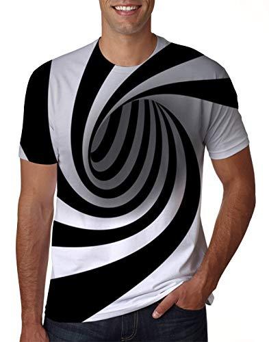 Unisex Women Men Summer Short Sleeve Tee Shirt Graphic Crew Neck Top Tshirt