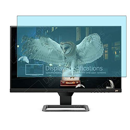 Vaxson 2 Unidades Protector de Pantalla Anti Luz Azul, compatible con BenQ EW2780U 27' Display Monitor [No Vidrio Templado]...