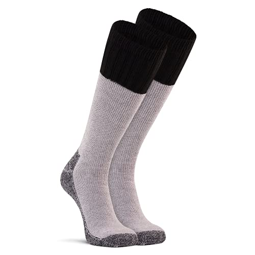 FoxRiver Wick Dry Tamarack Merino Wool Socks, Extra Heavyweight Mid-Calf Boot Socks Tough on The Cold and Extremely Durable - Navy - Medium