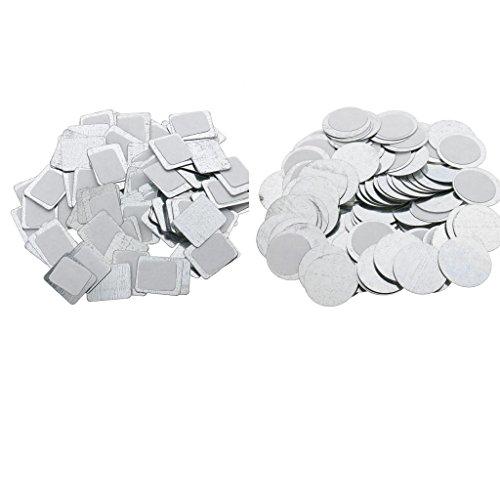 MagiDeal 200 Pièces Palette Magnétique Vide à Fard à Paupières Panier à Fard à Joues Blush Poudre Compact