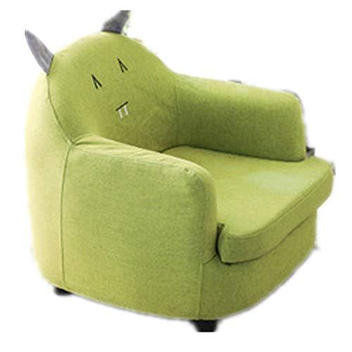Dfghbn Sillón de tela cómodo para niños, silla tapizada para niños de 2,3,4,5 años de edad y muebles de niños (color: Monster2, tamaño: 56 x 54 x 48 cm)