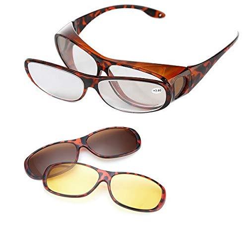 Brilletta Vergrößerungsbrille Zauberbrille