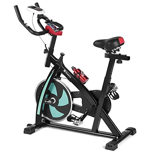 Indoor Spin Exercise bike Fitness Training Weight Loss Cardio Workout Machine Gym Home Workout All-inclusive...