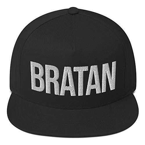 Bratan Snapback 3D Gestickt - Rap Hip Hop Mütze - Brudi Russland Russisch Bruder Cap - Kappe