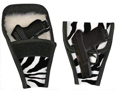 Ace Case Concealed Carry Removable Purse Holster (Zebra)