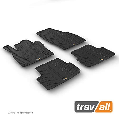 Travall Mats Tapis de Voiture Compatible avec Seat Arona et Ibiza (2017 et Ulterieur) TRM1306 - Tapis de Sol en Caoutchouc sur Measure