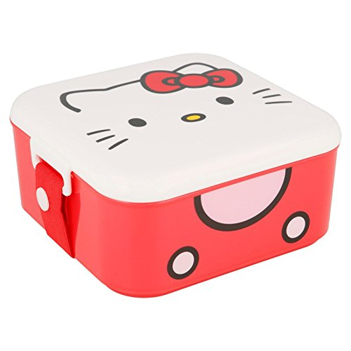Stor Character Bento Lunch Box Hello Kitty Cherry Jam Sac à déjeuner Unisexe Multicolore Taille Unique