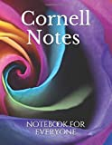 Cornell Notes notebook for everyone: Cute Cornell Note Paper Notebook. Nifty Large College Ruled Medium Lined Journal Note Taking System for School and University , 8.5x11 in