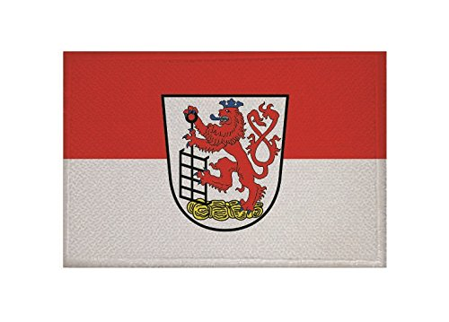 U24 Aufnäher Wuppertal Fahne Flagge Aufbügler Patch 9 x 6 cm