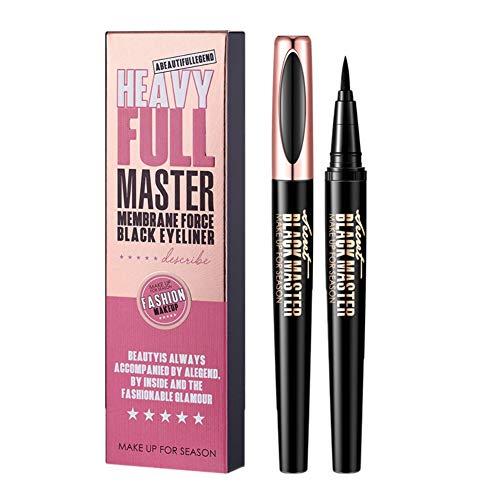 Stylo Eyeliner Liquide Noir, Cocohot Eyeliner Imperméable de Longue Durée Précis et Précis, Sans Floraison
