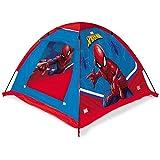 Mondo Toys – Garden Tent Tienda de jardín Spider-Man – Casa de Juegos para Interiores y Exteriores para niños y niñas – Tienda de Regalo portátil para niños, Bolsa de Transporte incluida – Roja/Azul