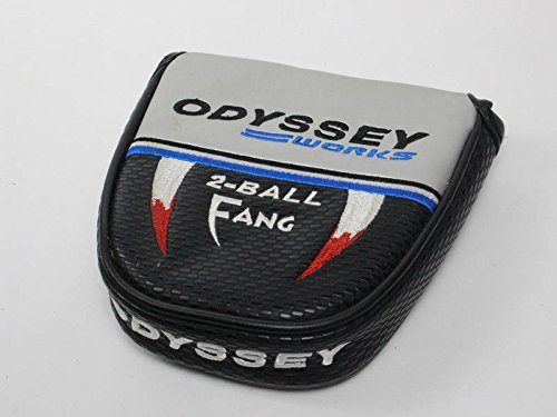 Odyssey Works Versa 2 Ball Fang Silver Mallet Putter Headcover