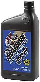 Klotz 10W/30 Outboard INBOARD Pure ESTORLIN Marine 4-Stroke Synthetic Lubricant, 1 Quart