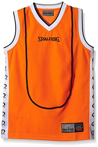 Spalding Herren Bekleidung Teamsport Play Off Tanktop, Orange, XXXL