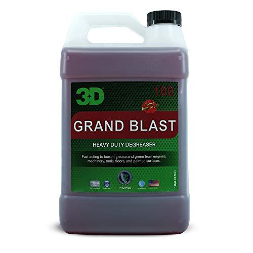 3D Grand Blast - Heavy Duty Engine Degreaser - 1 Gallon