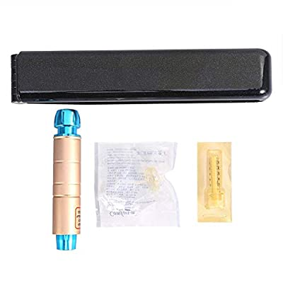 Pen Hyaluronic - Metal Hyaluronic Injector Salon Skin Care for Anti Aging, Wrinkle Removal, Replenishment, Brightening and Moisturin(Golden) from Solomi