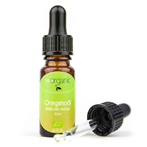 Bio-Oregano Öl (Origanum Vulgare) – charakteristische Farbe, würziger Duft – 100% naturreines ätherisches BIO-Öl - 10ml