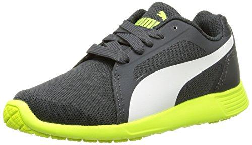 Puma ST Trainer Evo Jr Unisex-Kinder Sneakers, Grau (dark shadow-white 03), 38 EU