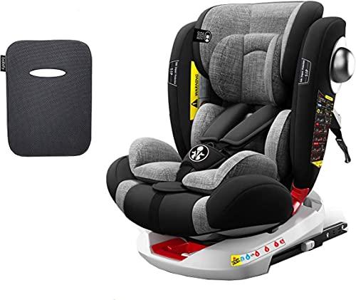 Babify Onboard Seggiolino Auto Girevole 0-36kg, 360°, Isofix + Dispositivo anti abbandono
